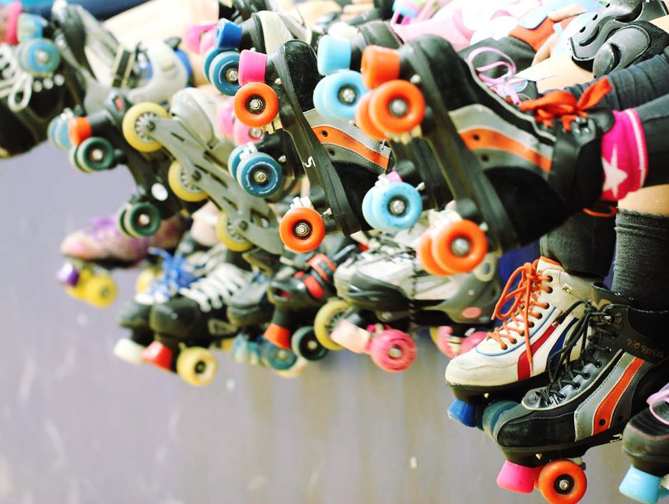 Roller skate repairs and refurbishments